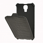 Чехол-раскладушка Flip Case (флип-кейс) для Samsung Galaxy S4 (I9500) Crocodile от Armor, артикул 77634