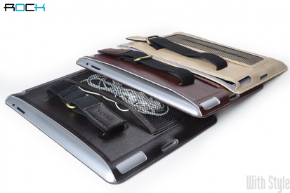 Чехол для Apple iPad 4/3 Car - mounted Leather Case от ROCK, артикул: 18798