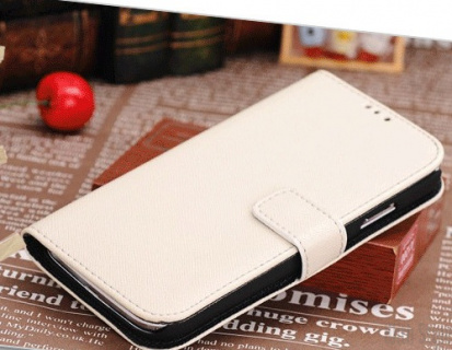 Чехол-книжка для Samsung Galaxy S4 (i9500) Cross Texture, артикул: 17968