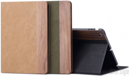 Чехол-книжка для iPad Air Woody Series от ROCK, артикул: 25633