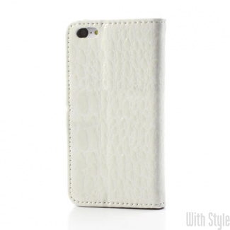 Чехол-книжка для iPhone 5C Crocodile Skin, артикул: 21522
