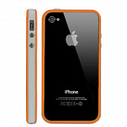 Бампер для iPhone 4/4S TPU Bumper Clear, артикул 4985
