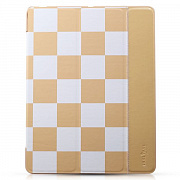 Чехол-книжка для iPad 4/3/2 Smart Case Checker Grid Pattern от TakeFans, артикул 30737