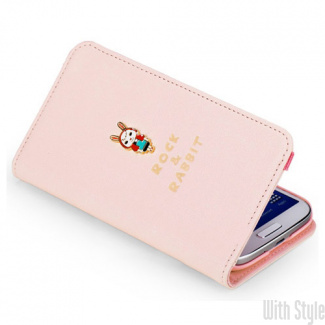 Чехол-книжка для Samsung Galaxy S4 Rabbit Leather Wallet от ROCK, артикул: 20556