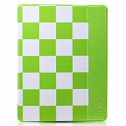 Чехол-книжка для iPad 4/3/2 Smart Case Checker Grid Pattern от TakeFans, артикул 30739