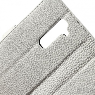 Чехол-книжка для LG G2 Litchi Skin Leather Wallet Case, артикул: 23733